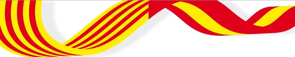 Resultado de imagen de bandera catalana y española juntas