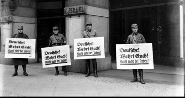 Escrache nazi