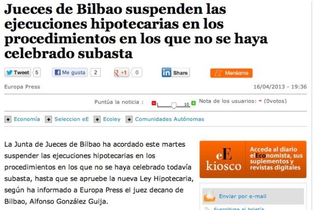 Jueces de Bilbao (Eco)
