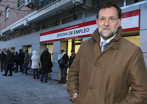 Rajoy en el Inem