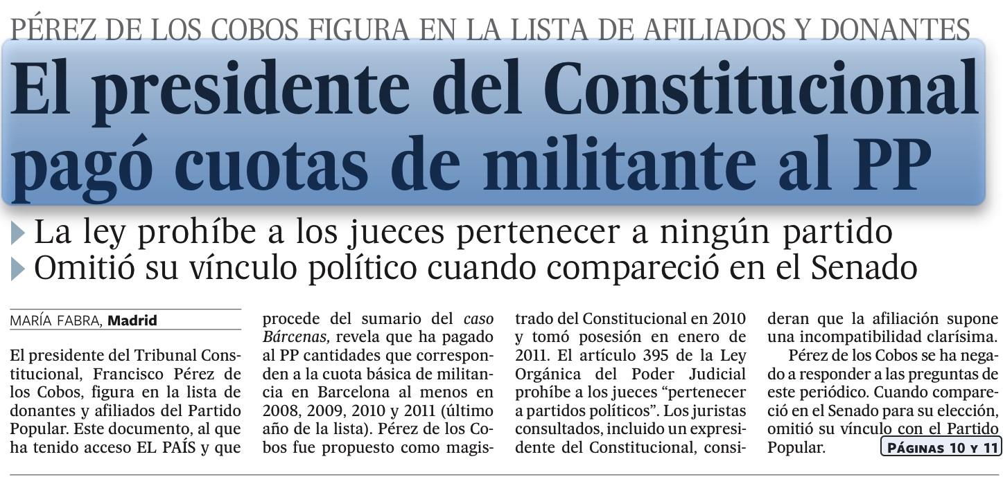 Casi una ilegalidad   El blog de Santiago González