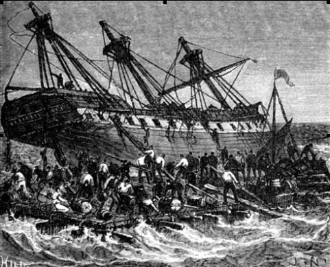 la balsa Medusa