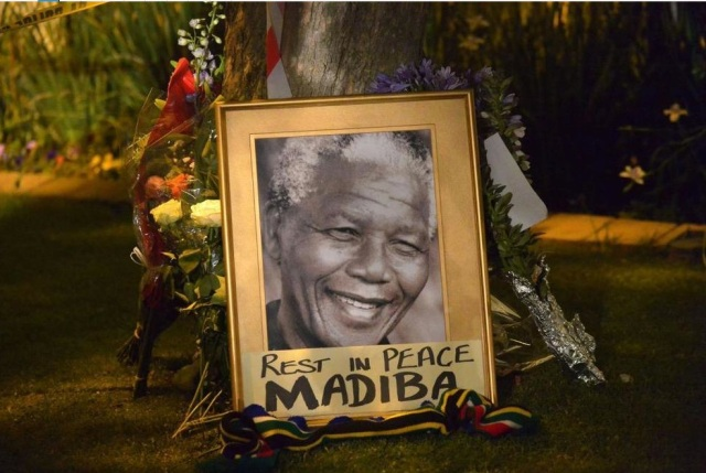 rest in peace, Madiba