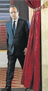 Hollande cortina