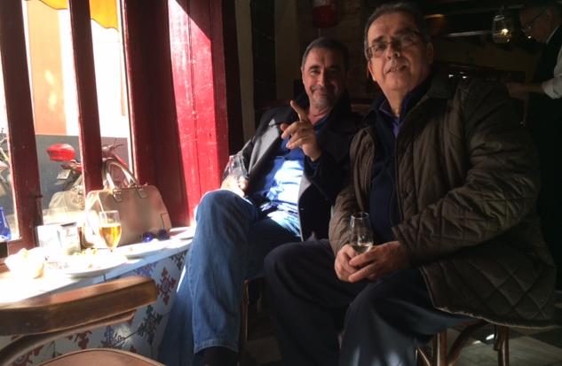 Herrera and me