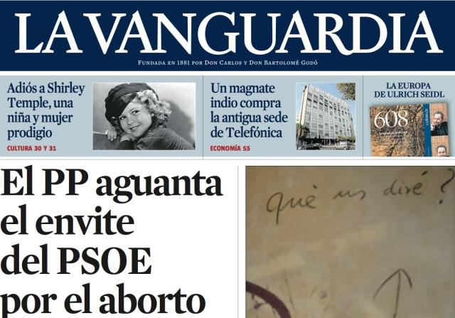 Por La Vanguardia