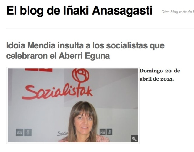 Blog Anasagasti