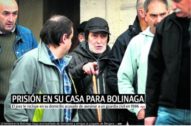 Prisión en su casa para Bolinaga