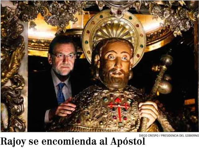 Rajoy abraza