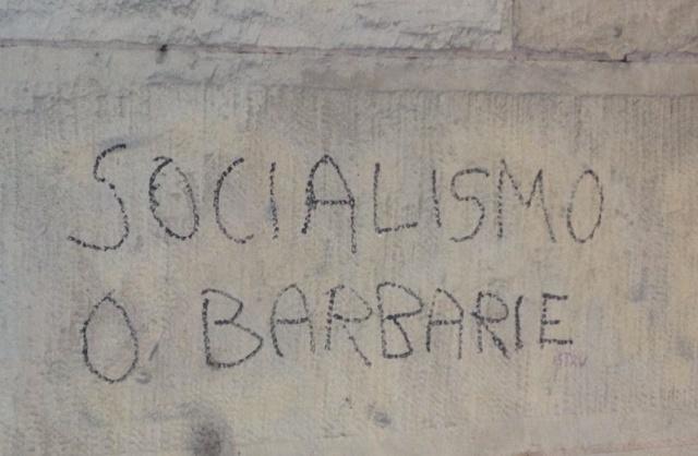 Soicialismo o barbarie