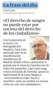 Cayo Lara