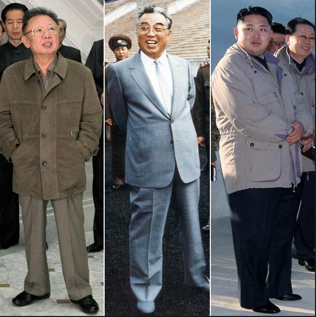 Kim II, Kim I y Kim III