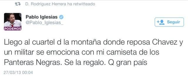 Tuit PI Chávez