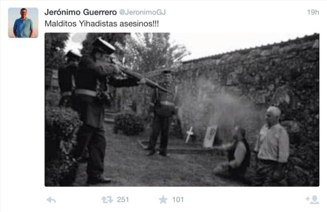 Malditos yihadistas asesinos