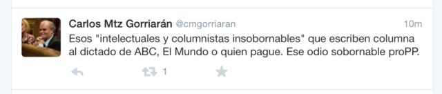 twit Carlos MG