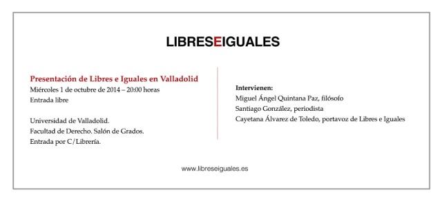 Valladolid Libres e Iguales