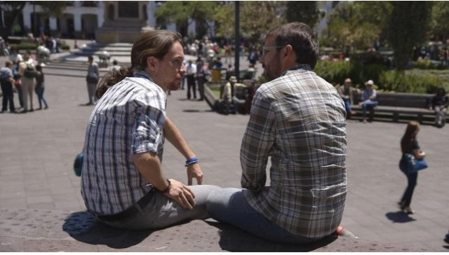 Pablo Iglesias y Evole