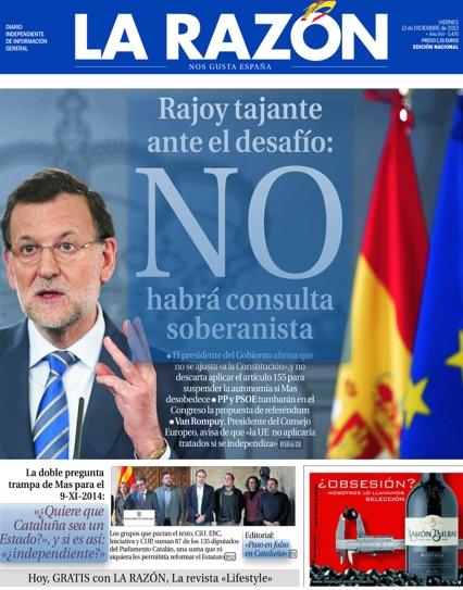 Mariano Rajoy no toleraría