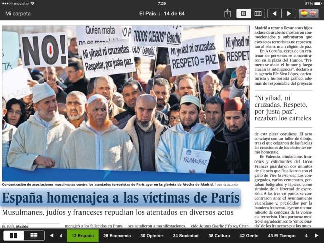 Condena en Madrid