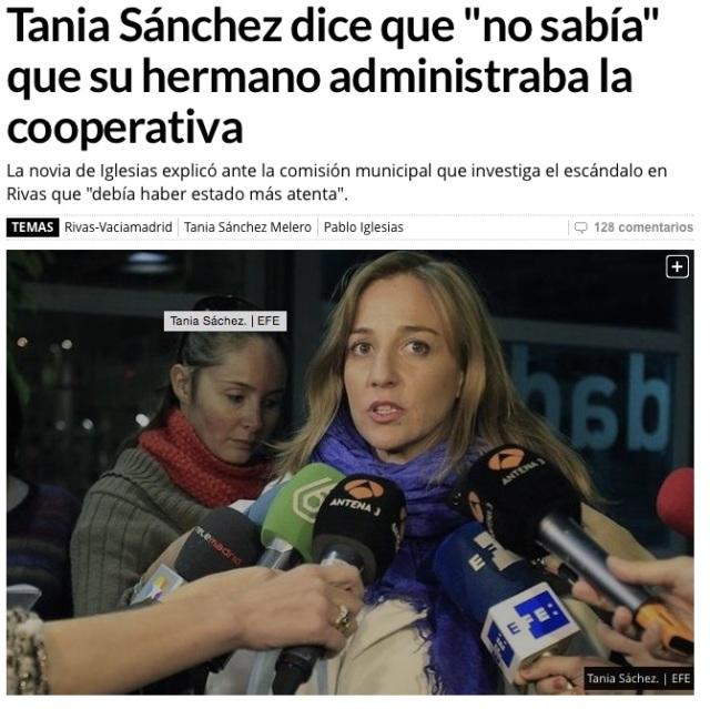 Tania no sabía