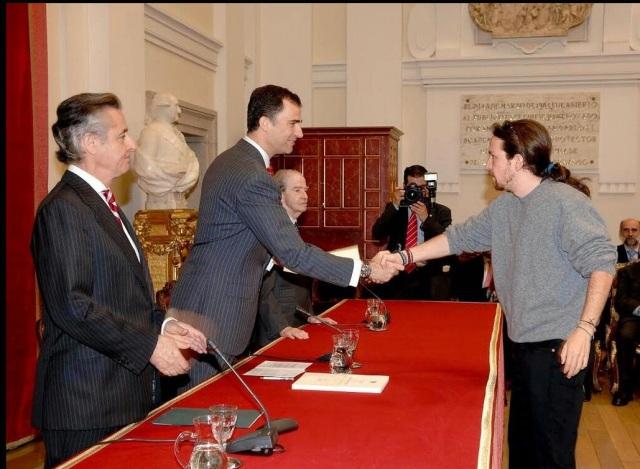 Pablo y Felipe en 2007