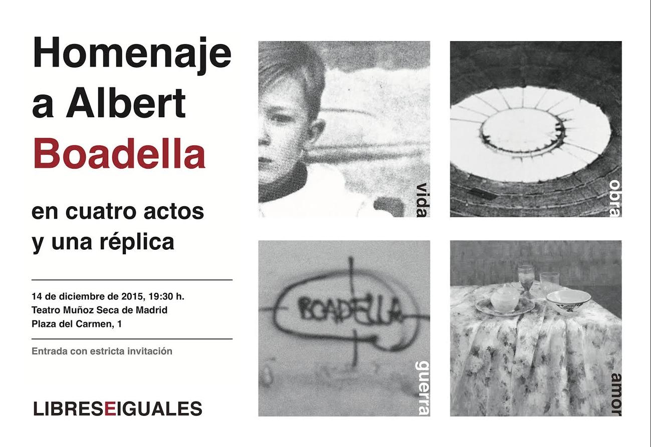 Hoy, con Boadella en el Teatro Muñoz Seca   El blog de Santiago González