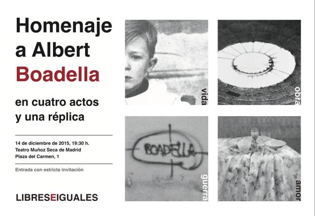 Homenaje a Boadella