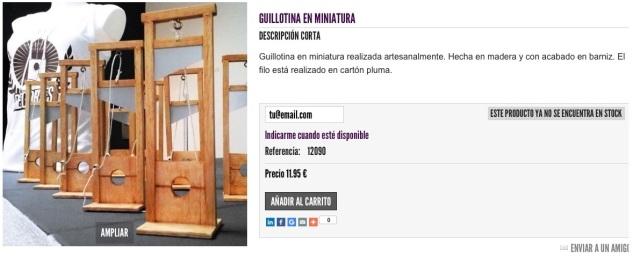 guillotinas Podemos