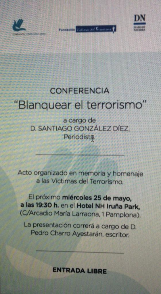 Conferencia en Pamplona