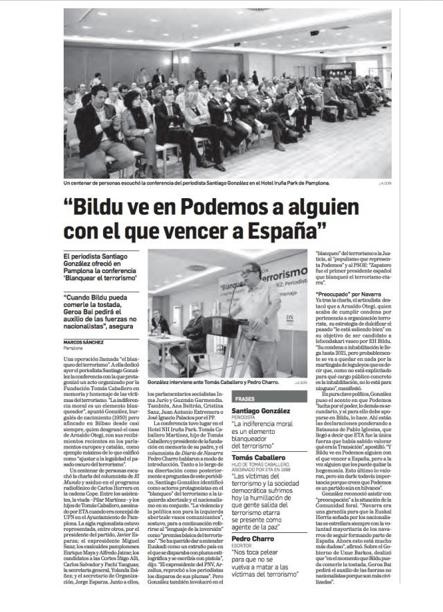 SG en Diario de Navarra