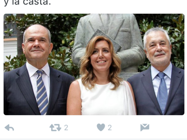 Susana entre dos